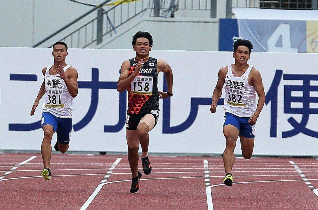 魏泰陞(右)。 圖/中華田徑協會提供