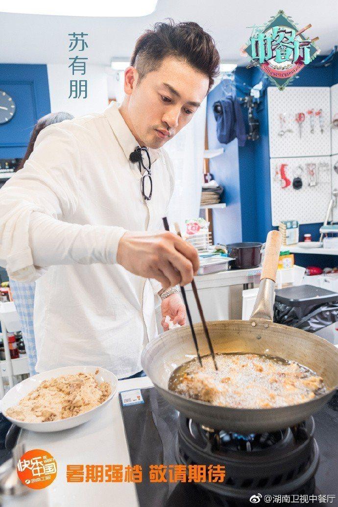 蘇有朋是「中餐廳2」班底之一。圖/摘自微博