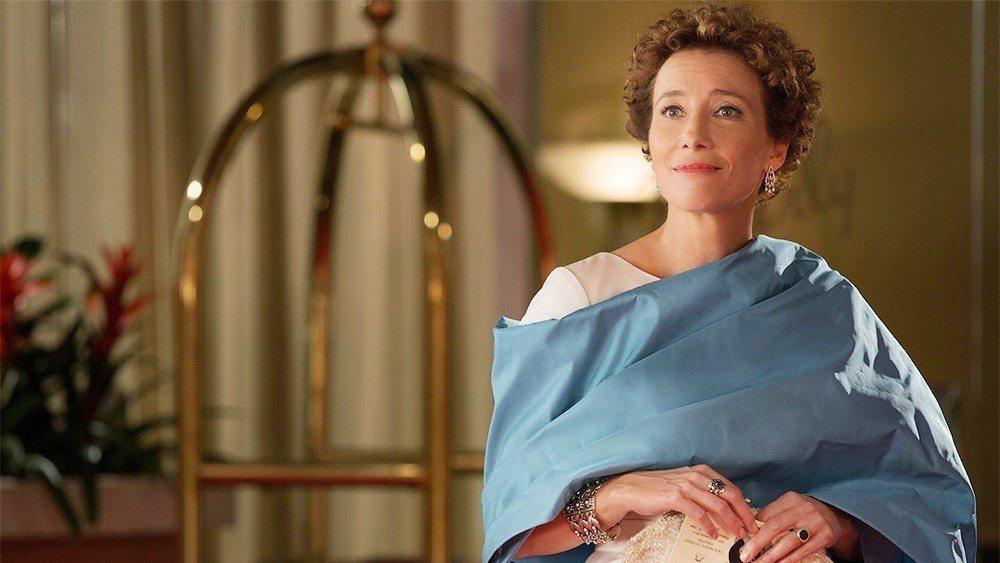 艾瑪湯普遜在「大夢想家」也有精湛演出。圖/迪士尼提供