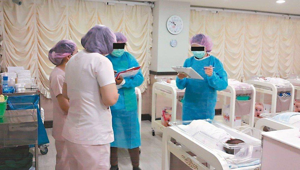 高雄市某月子中心傳出腸病毒輕症群聚感染疫情,衛生局在全市產後護理機構及月子中心展...