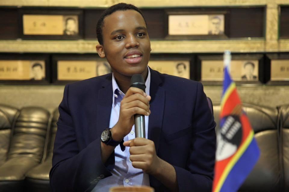 史瓦帝尼王儲班柯希王子今年從實踐大學學士班畢業。圖╱聯合報系資料照片