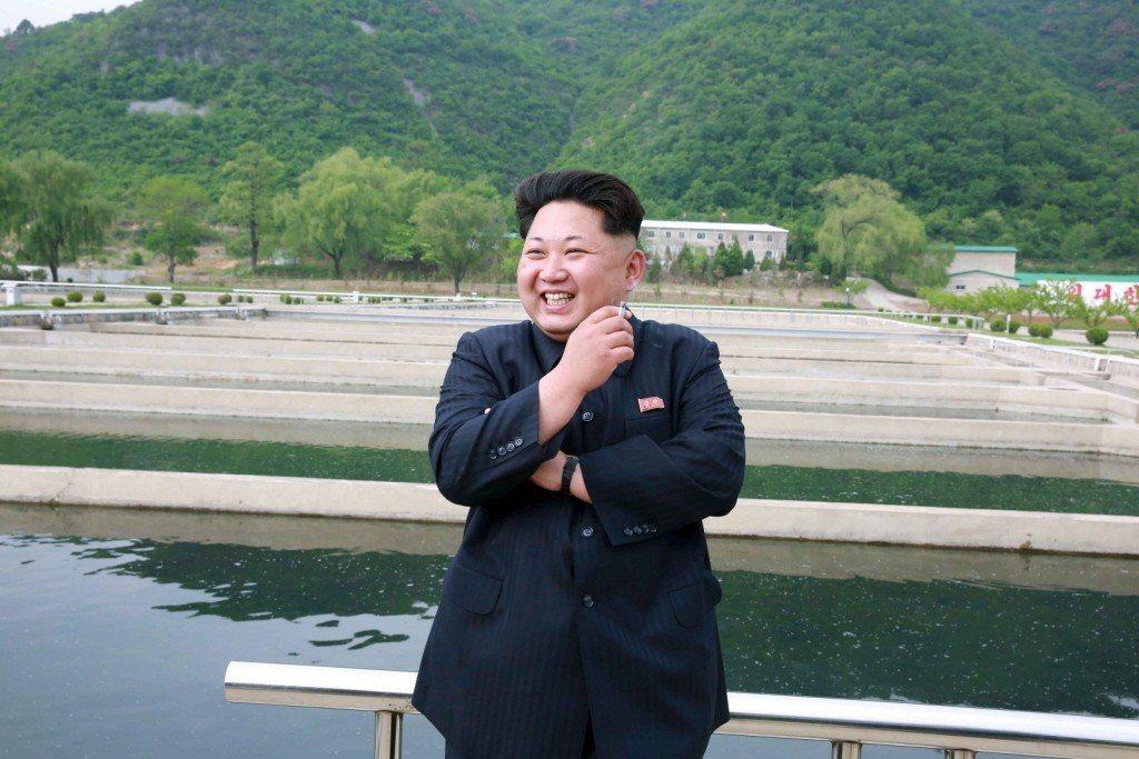 北韓領導人金正恩。 路透