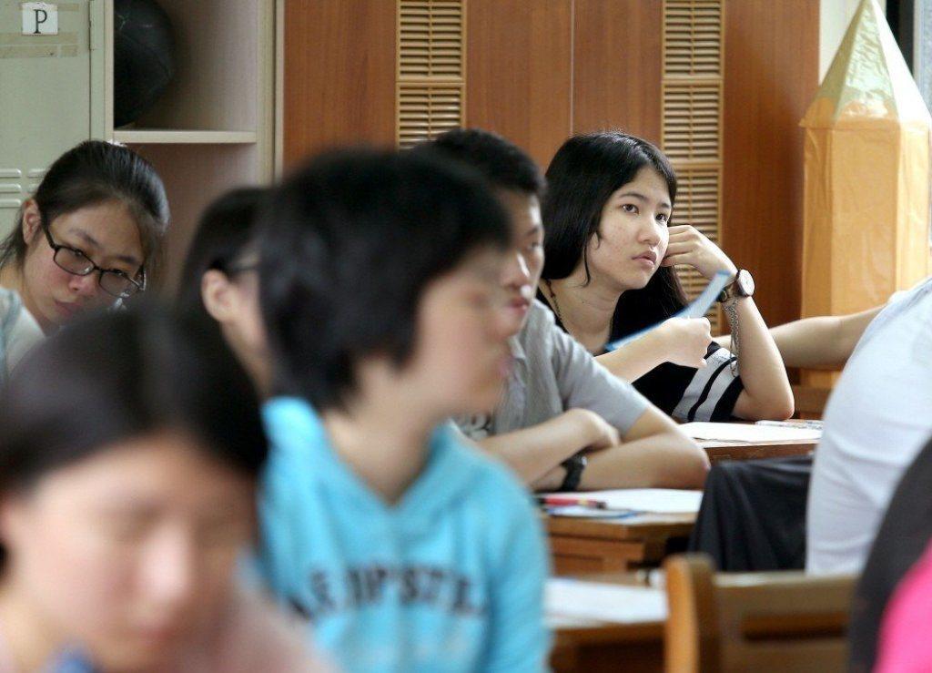 高中英語聽力出現雙峰化。圖/報系資料照