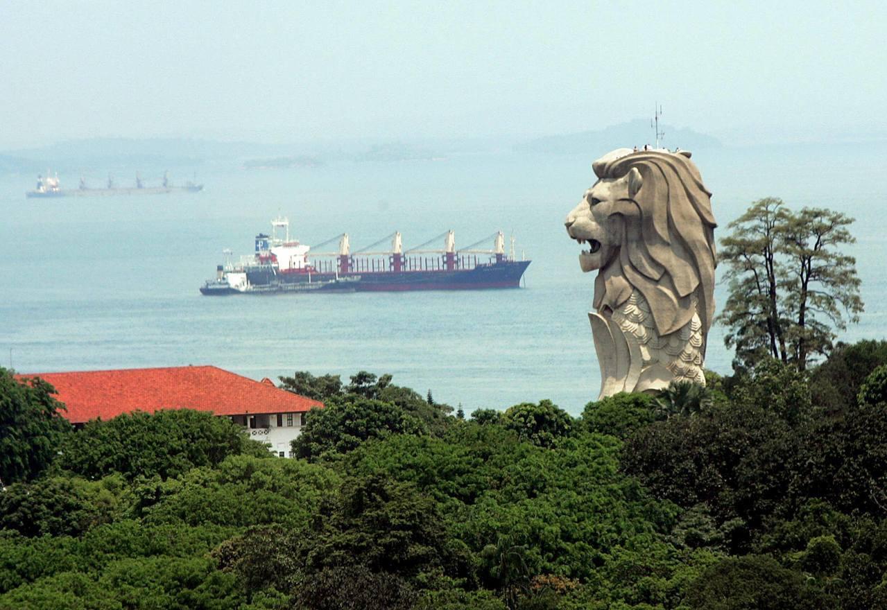 """圣淘沙远离了新加坡市中心的""""喧闹"""",代表了""""和平的渴望""""?图/法新社"""