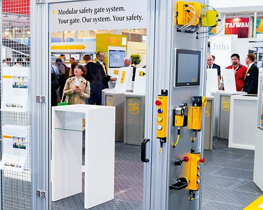 模組化安全防護系統的核心是由安全防護感測器PSENslock與PSENmlock...