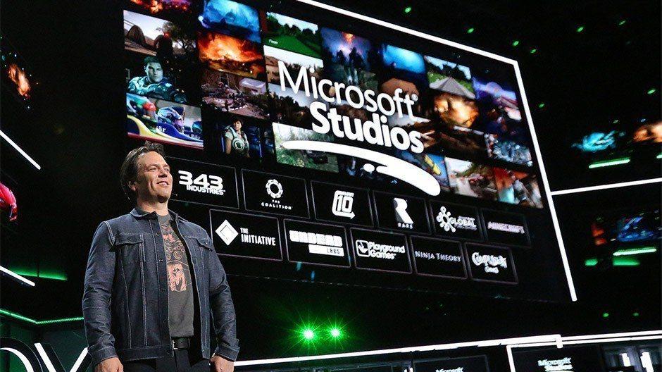 微軟於E3展前記者會上公佈與遊戲工作室的未來合作。
