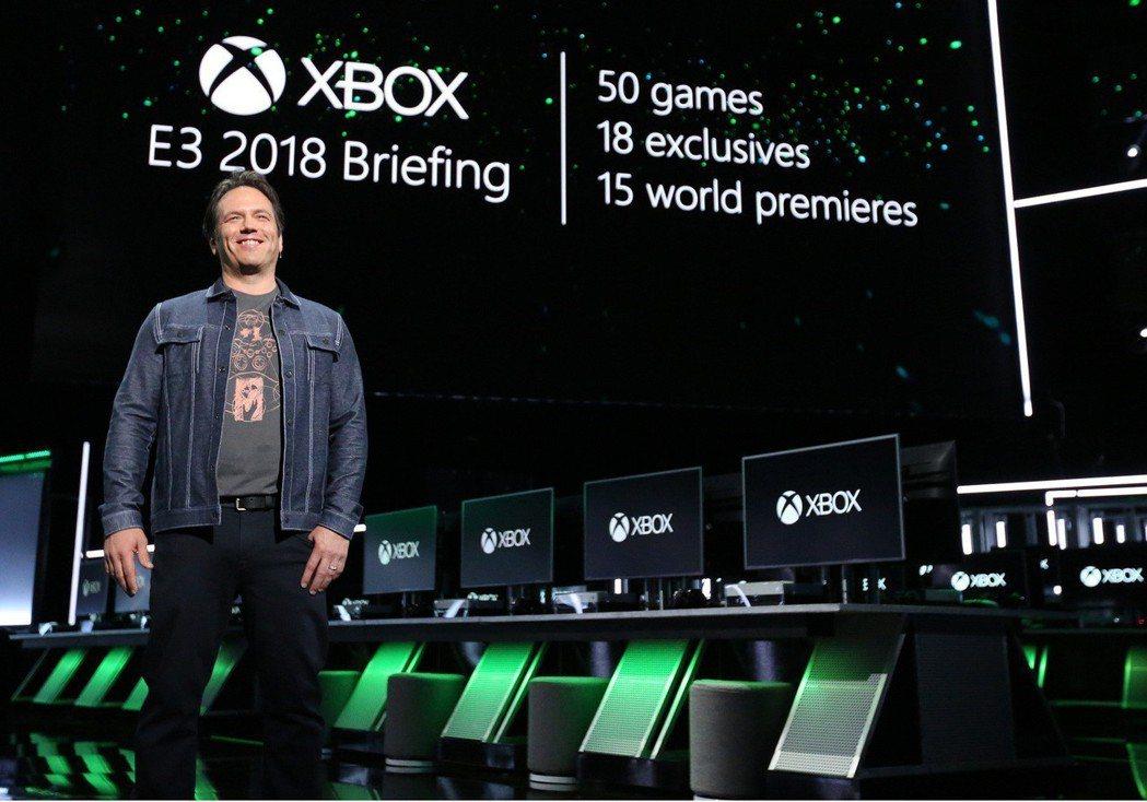 微軟於E3展前記者會上發表超過50款遊戲,包含18款獨佔以及15款全球首發遊戲。