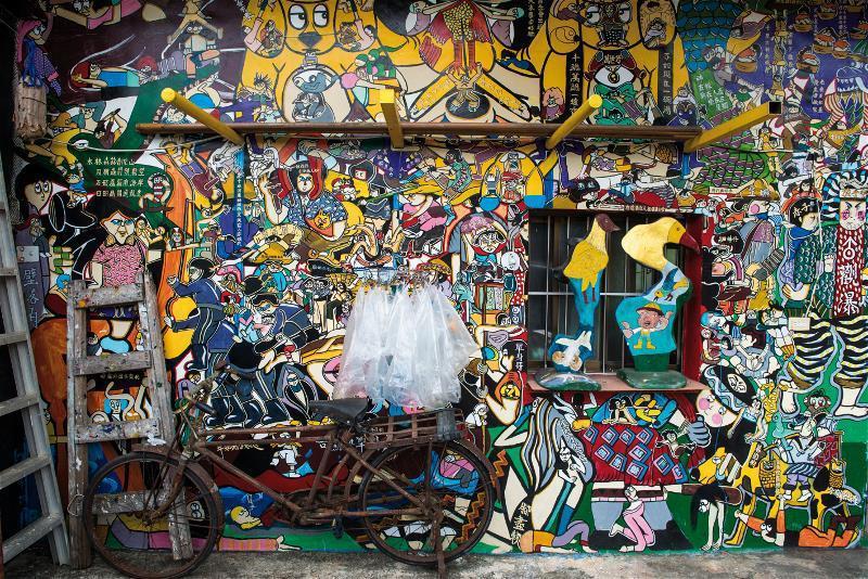 軟橋社區因彩繪而聞名。