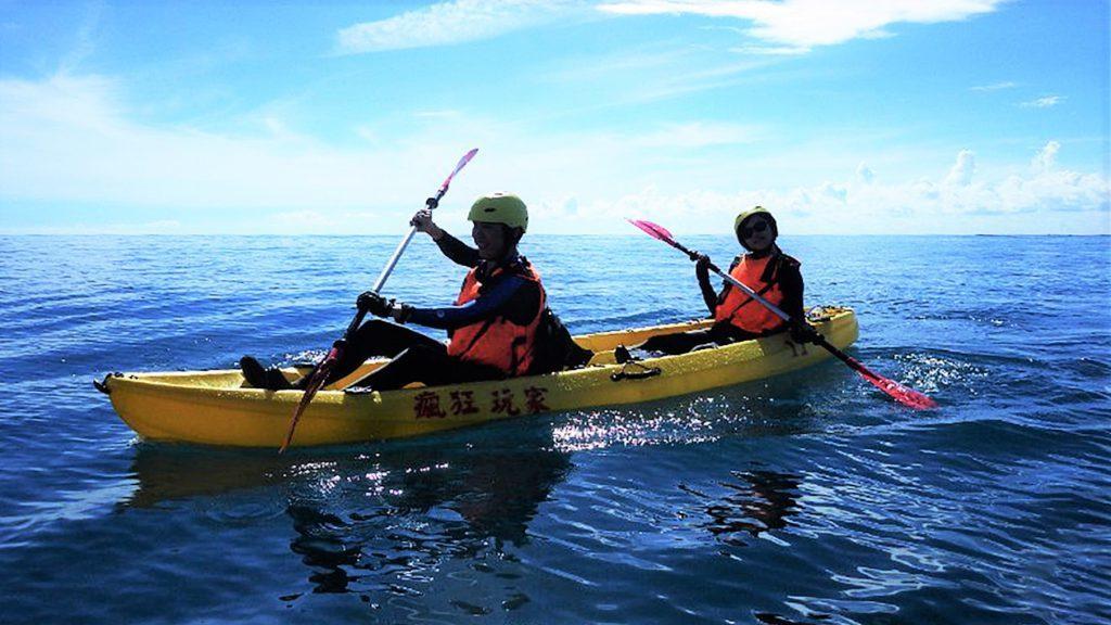 ▲台東美麗灣獨木舟體驗。(圖/Tripbaa趣吧!亞洲自由行專家)