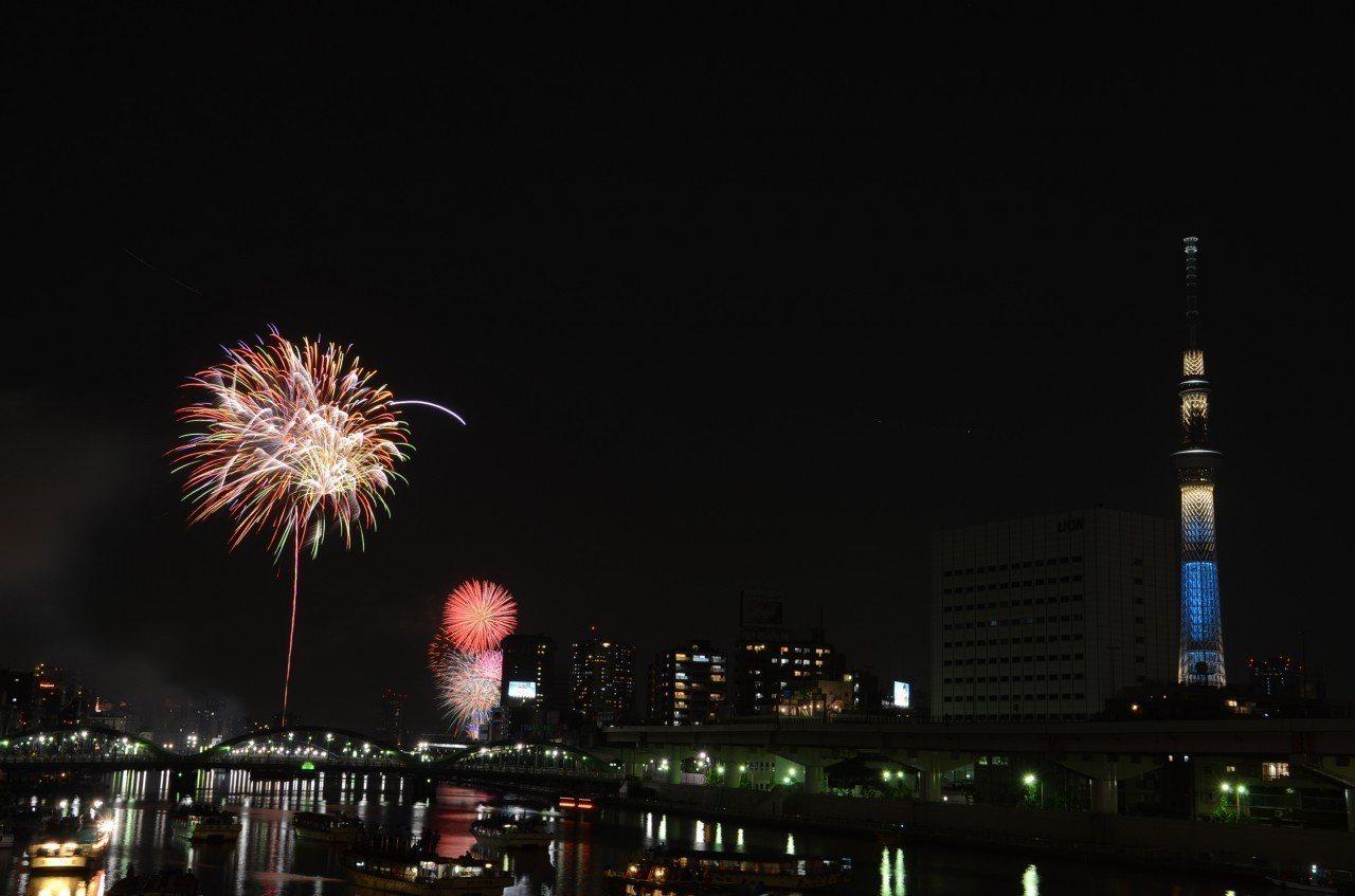 ▲東京隅田川花火。(圖/©Taito City/©JNTO)