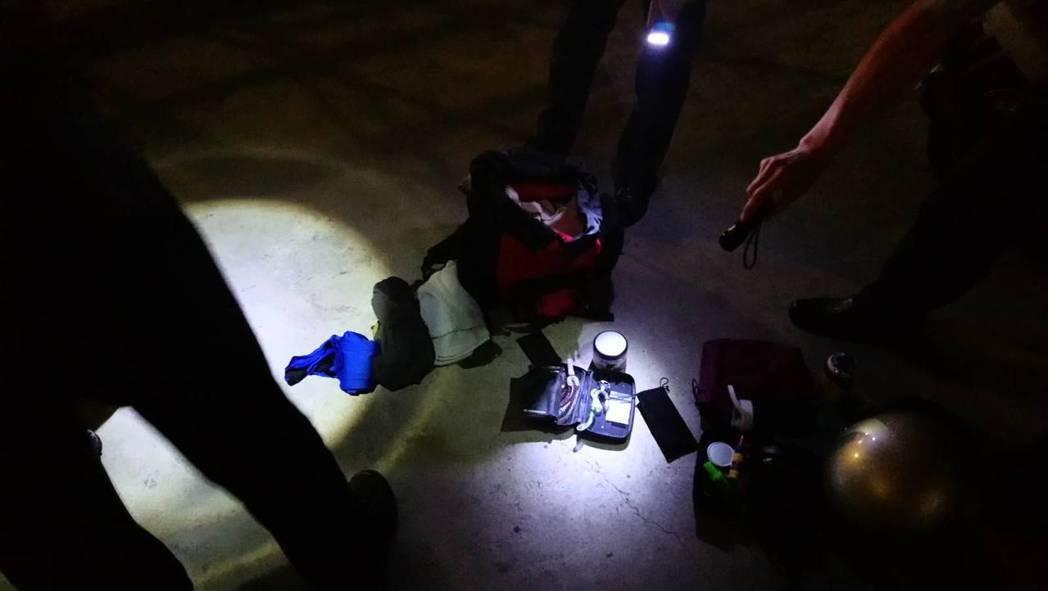 基隆市消防局消防隊員謝宗翰二次持毒被逮。圖/瑞芳警分局提供