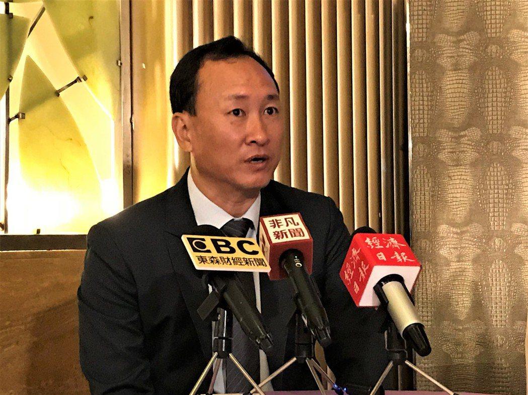 興富發董事長鄭志隆 記者游智文/攝影