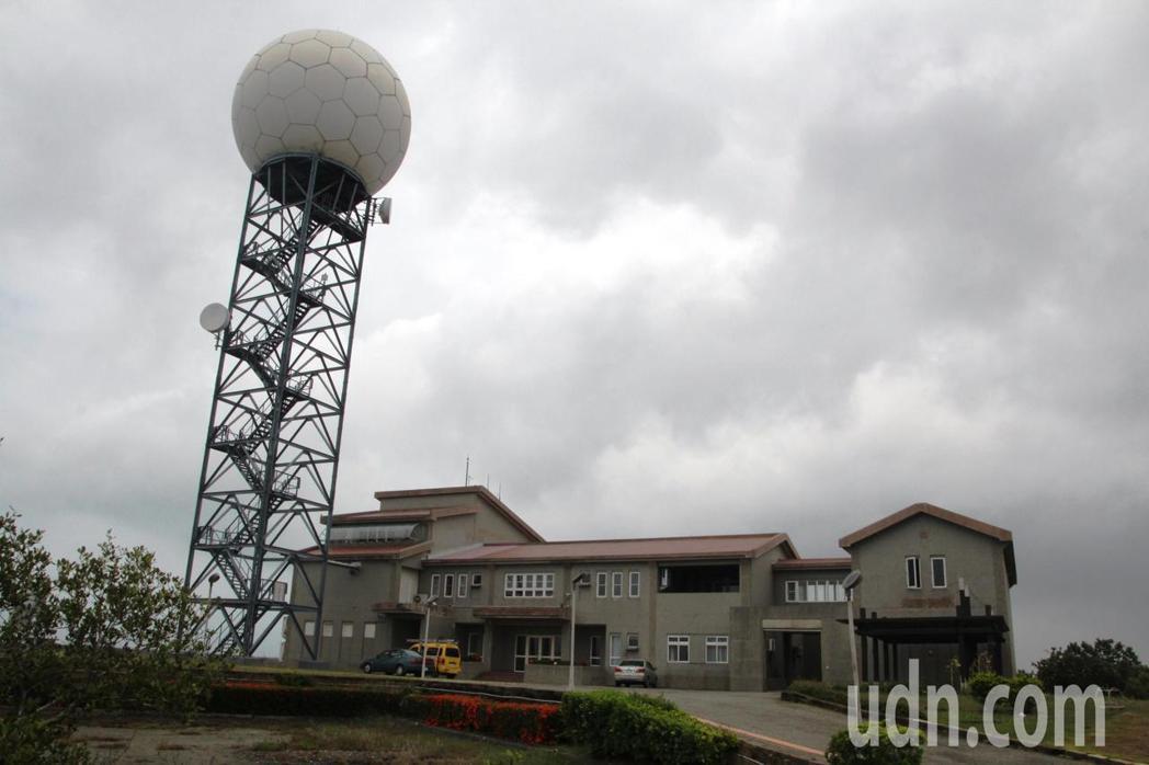 氣象局七股雷達站現址。記者謝進盛╱攝影