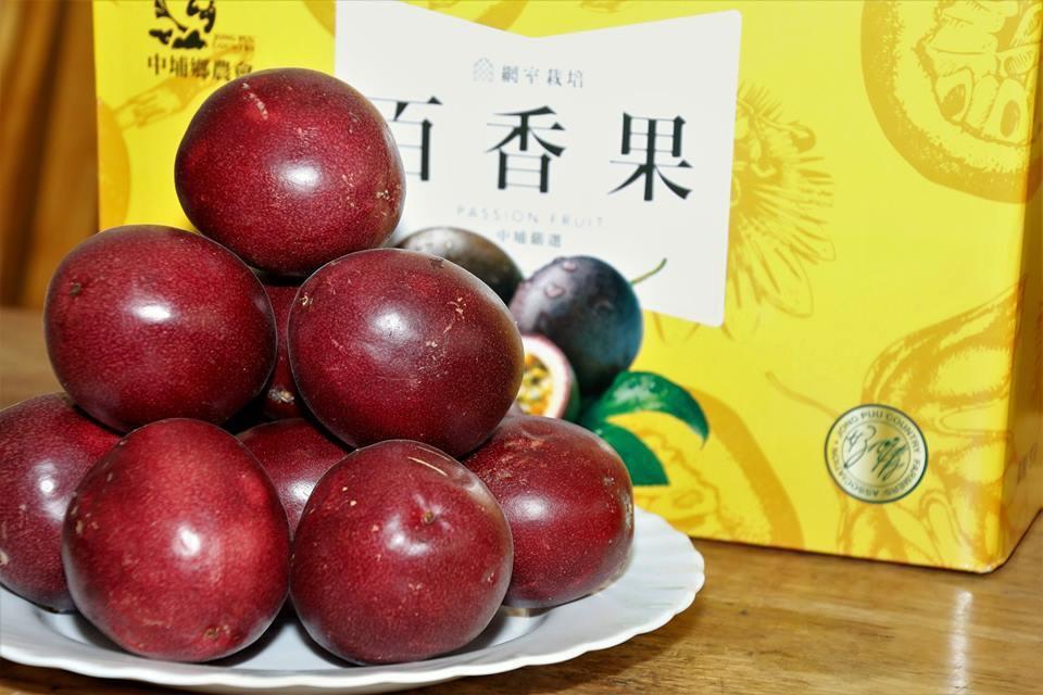 中埔鄉農會的百香果強調無毒栽培,通過檢驗。記者謝恩得/翻攝