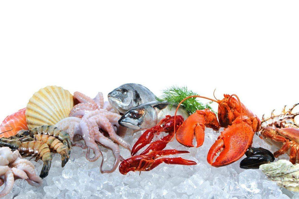 隨著海鮮食用量增加,對海鮮過敏的人也變多。 圖╱123RF