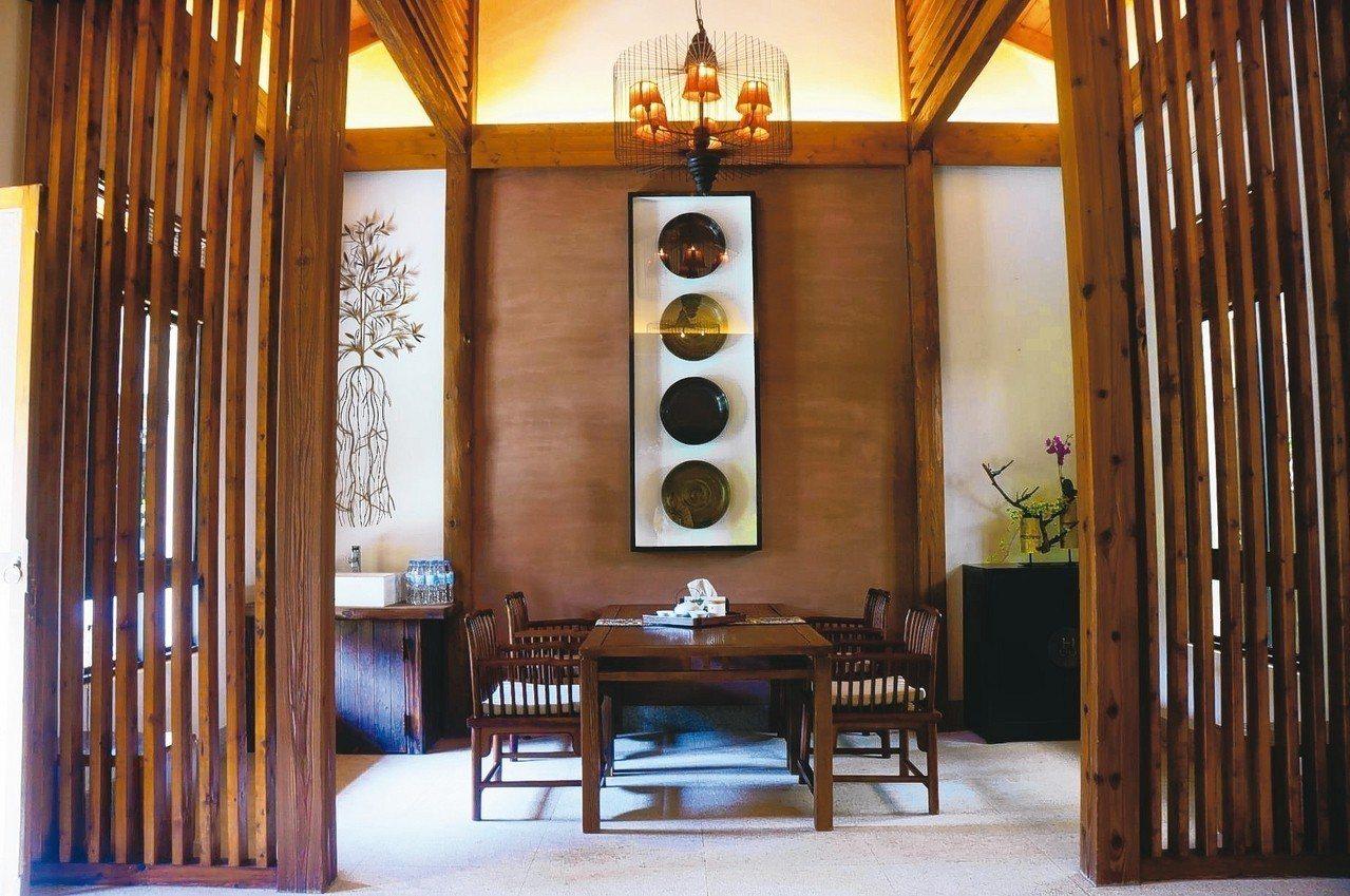 宋居每房備有茶席,可品茗臺灣好茶。圖/有行旅提供