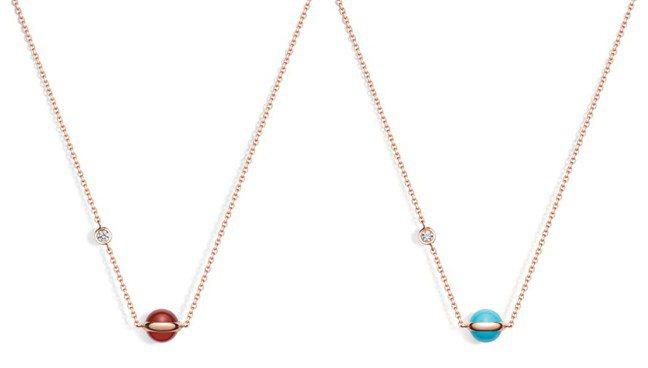 價格平易的小巧珠寶,最讓人驚喜。圖為PIAGET的POSSESSION系列鍊墜。...