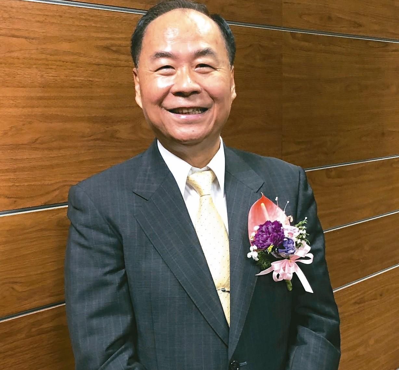 亞光董事長賴以仁。 記者劉芳妙/攝影