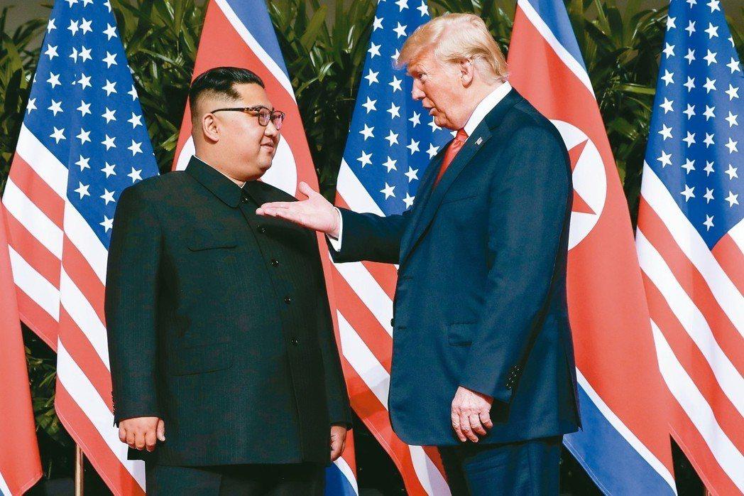微笑外交能雙贏?川金收起狂大秀柔軟