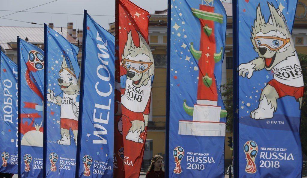 2018世界盃足球賽即將開賽,俄羅斯開始迎接從世界各地來看球的旅客。 美聯社