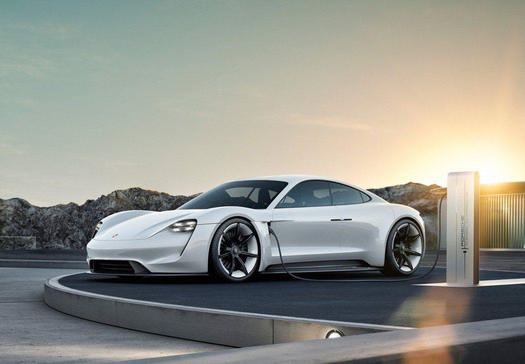 保時捷(Porsche)首款純電動車將於2019年正式投入量產,同時更正式命名為...