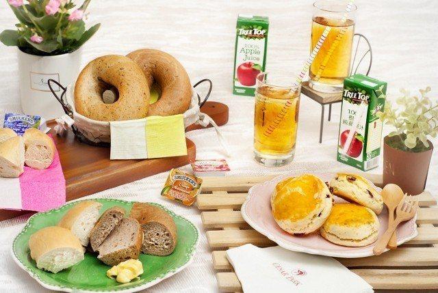 飯店專案贈送的豪華野餐組。 台北凱撒/提供