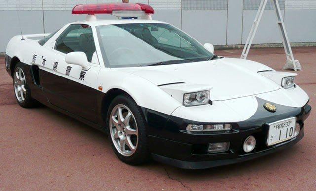 連Honda NSX 也是栃木縣警局的配車。 摘自網路