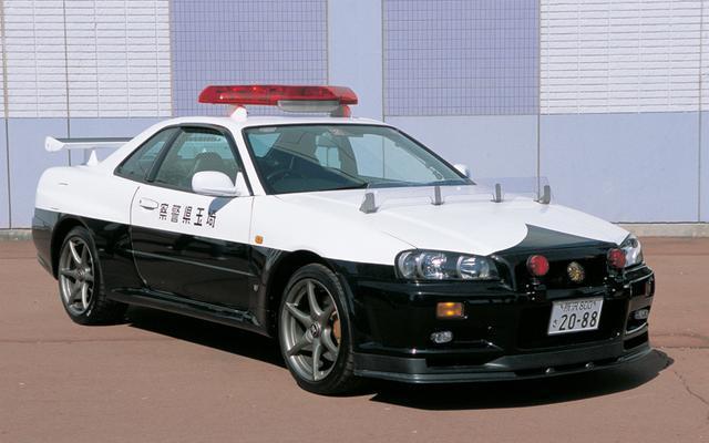 另一地的琦玉縣則是有Nissan Skyline R34 GT-R 摘自網路
