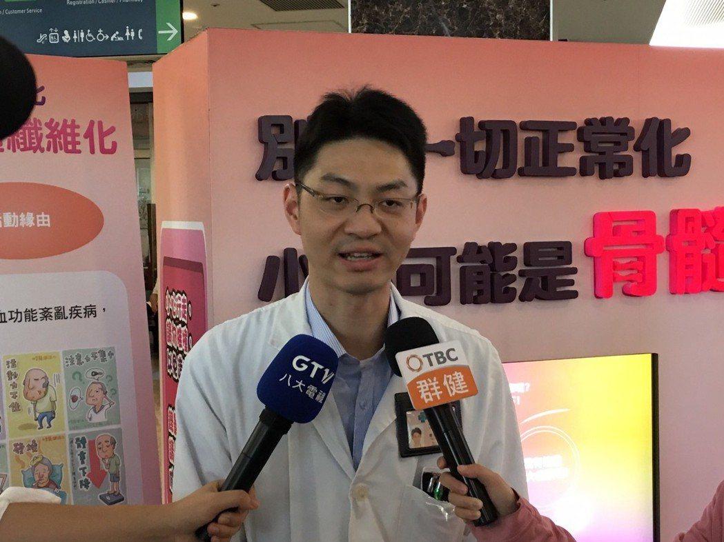 血液腫瘤科滕傑林主任 臺中榮總/提供。