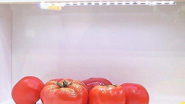 圖2 : 乍看之下,這只是相當普通的鮮果展示櫥櫃(source:日本富士通研究所...