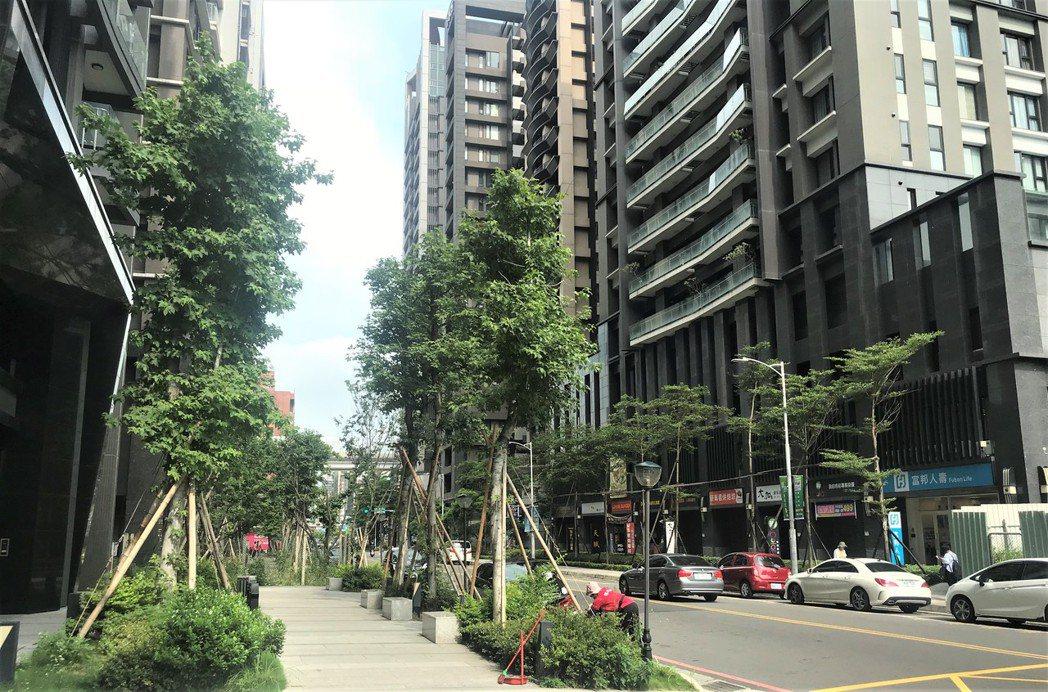 新莊頭前重劃區 記者游智文/攝影