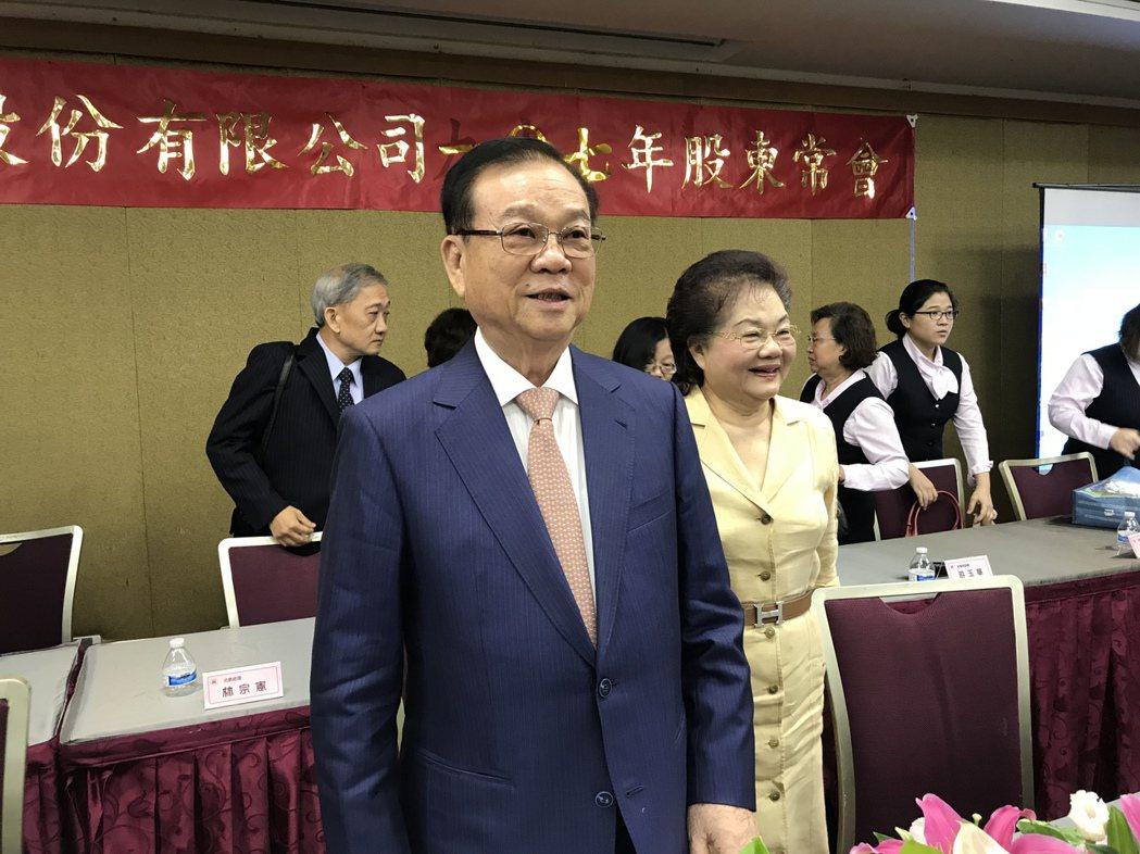 皇翔建設董事長廖年吉 記者游智文/攝影