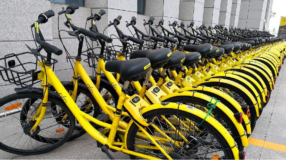 傳ofo新加坡近半員工被裁,共享單車當地遭賤賣240元人民幣。(香港01報導)