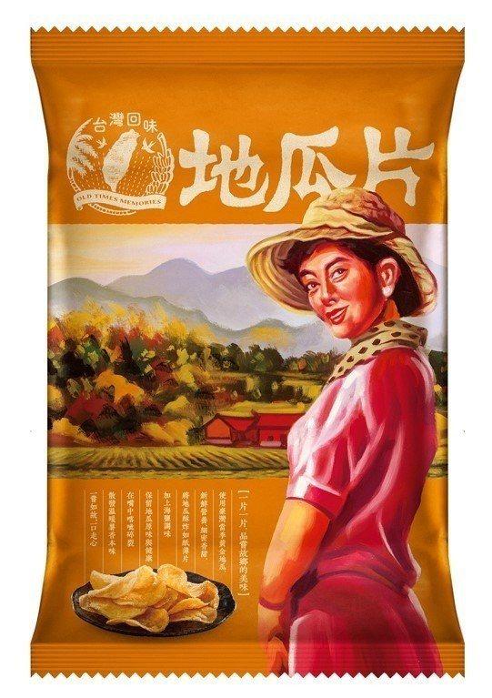 台灣回味地瓜片,售價28元,7-ELEVEN獨賣。圖/7-ELEVEN提供