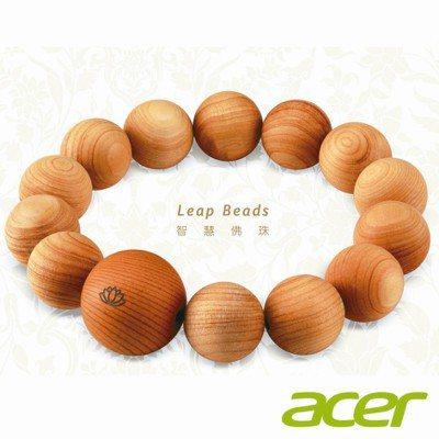 acer Leap Beads智慧佛珠。 圖/acer提供