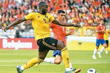 比利時盧卡庫梅開2度 熱身賽踢退哥斯大黎加