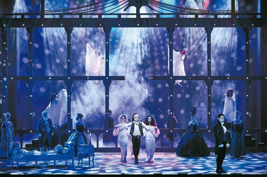 經典法文音樂劇《搖滾莫札特》十月將首度來台演出。 圖╱聯合數位文創提供