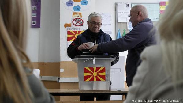 馬其頓新國名協議除須經兩國國會批准外,還將交由馬其頓公民投票決定。 (美聯社)