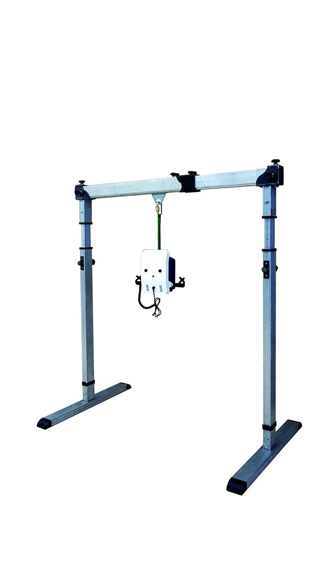 榕懋實業-高安全性的龍門型移位機。 工業局/提供