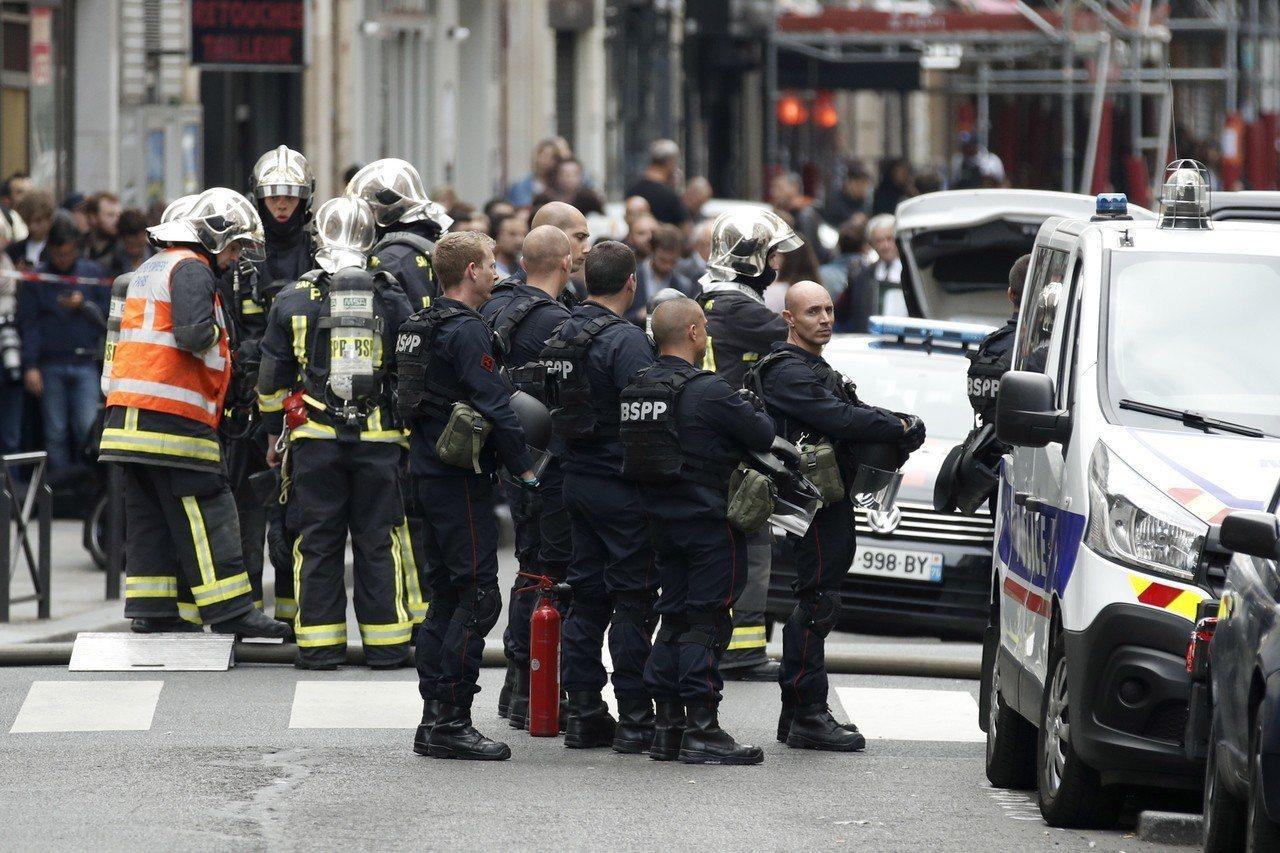 武裝男子在巴黎劫持人質 似和恐攻無關 歐新社