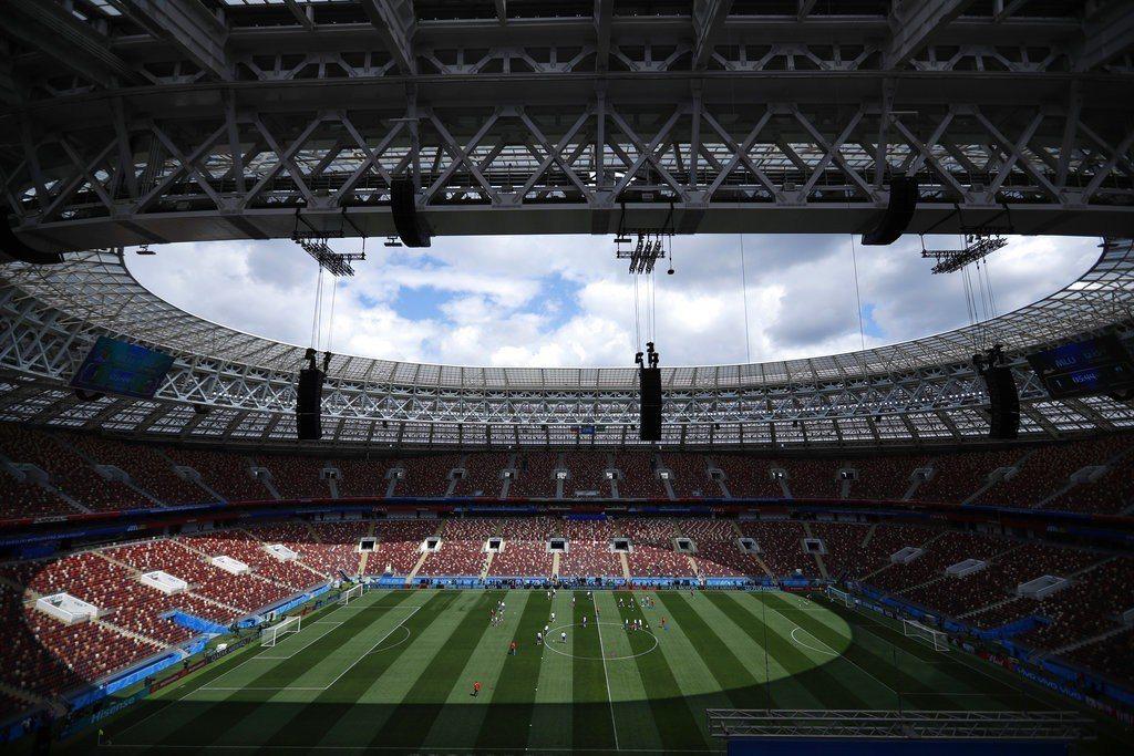 世界盃足球賽本週在俄羅斯開踢。 美聯社