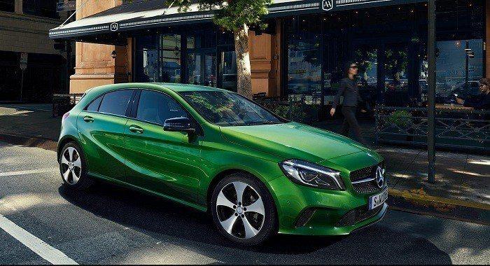 但150萬的話在台灣應該只能買到A180。 摘自Mercedes Benz