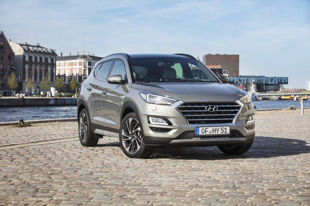 Hyundai Tucson小改款將於第二季登場。 摘自Hyundai