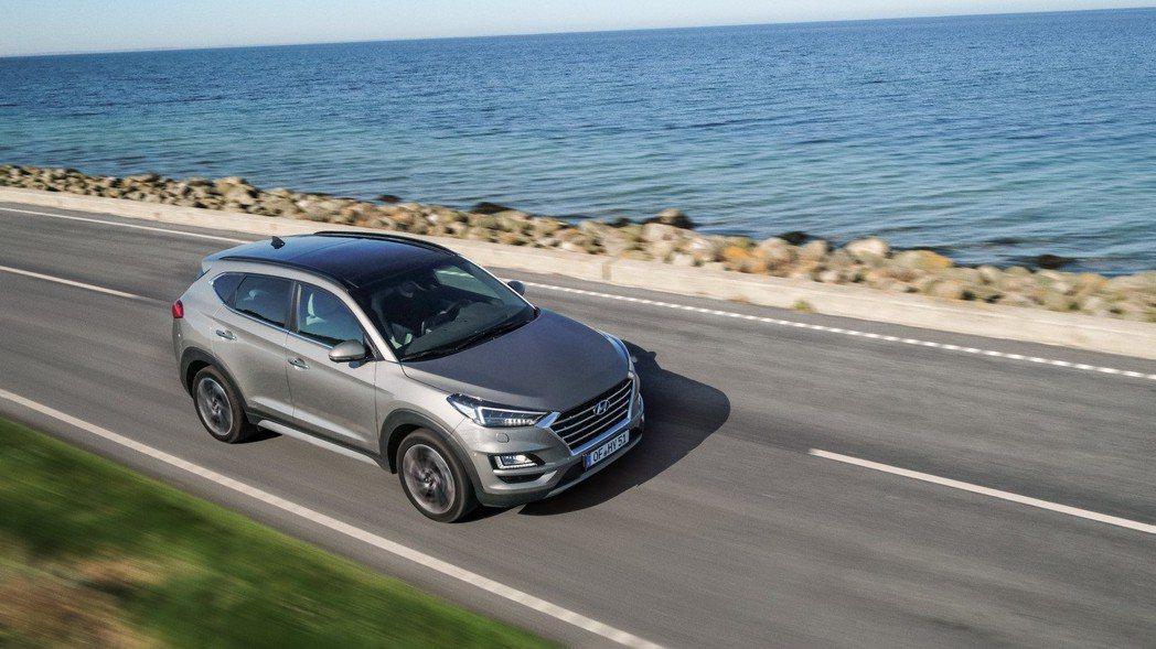 2019年式Hyundai Tucson。 摘自Hyundai