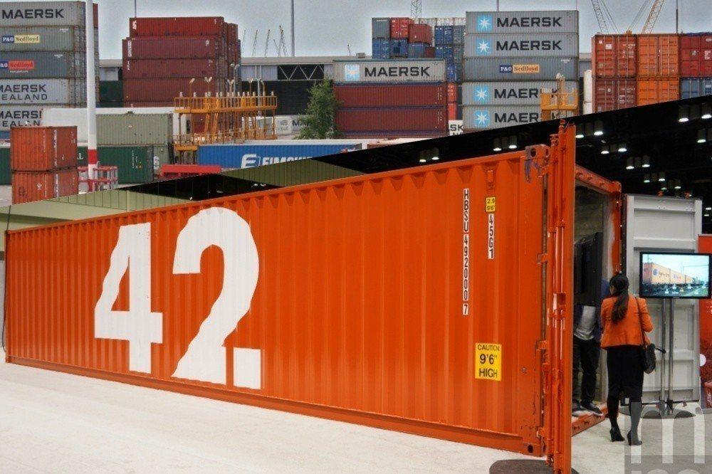 透過讓傳統貨櫃變得可以連網,藉此讓貨櫃運送動向變得更容易被掌握