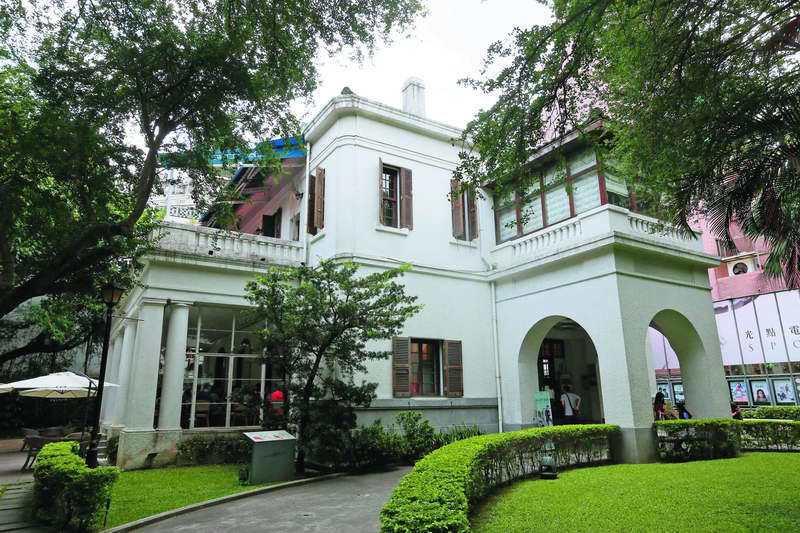 台北市目前的文藝重地光點咖啡,過去是美國駐台領事館。 攝影/柯承惠