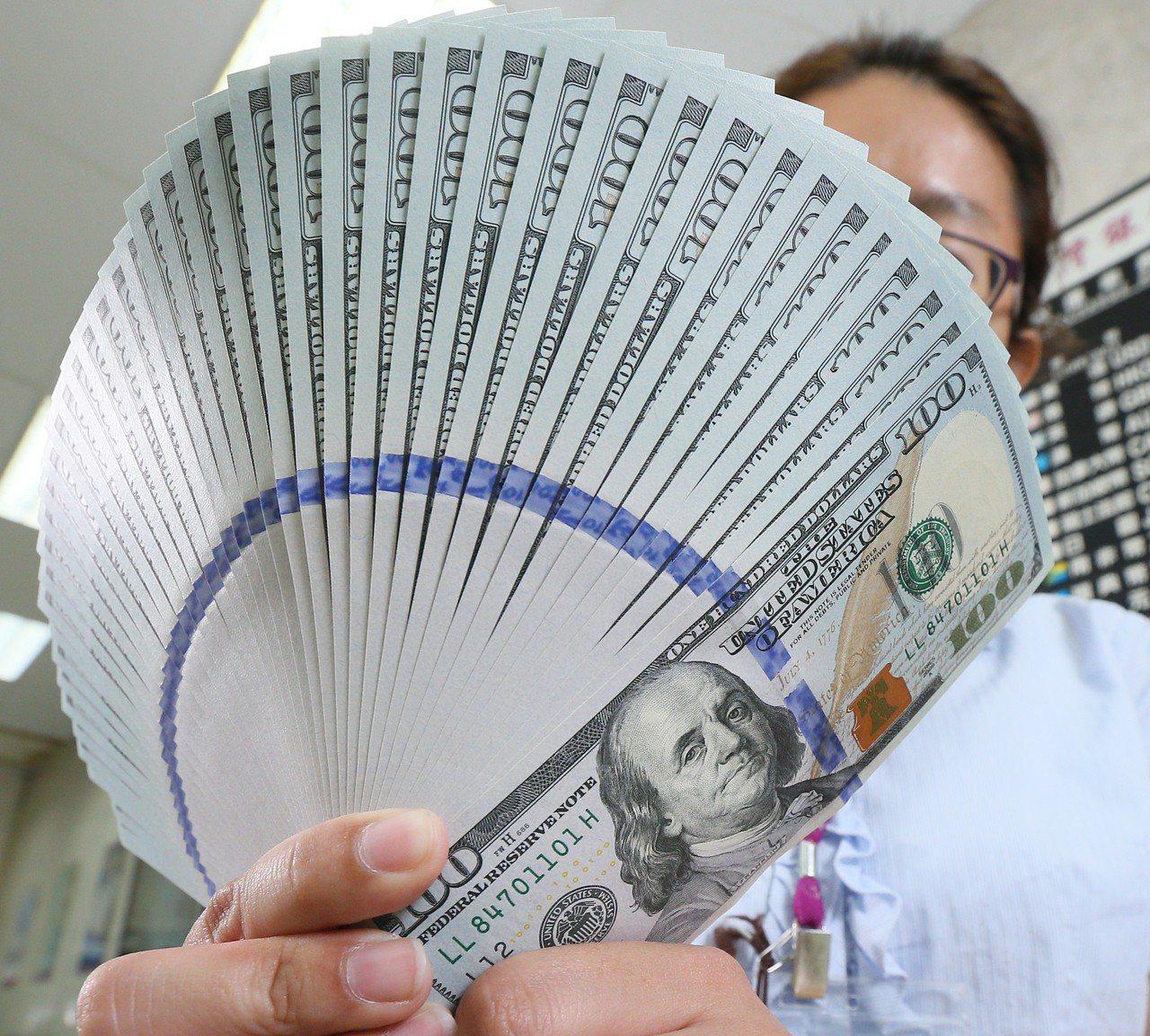 第2季底,搶美元高利存款,機會又來了。聯合報系資料照