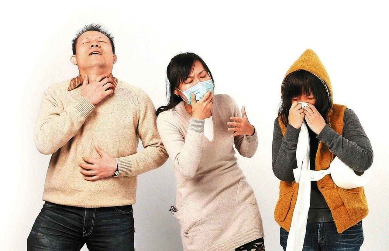 環境空污容易造成氣喘及呼吸道感染,醫師認為做好準備,規律運動反而有助病情控制。圖...