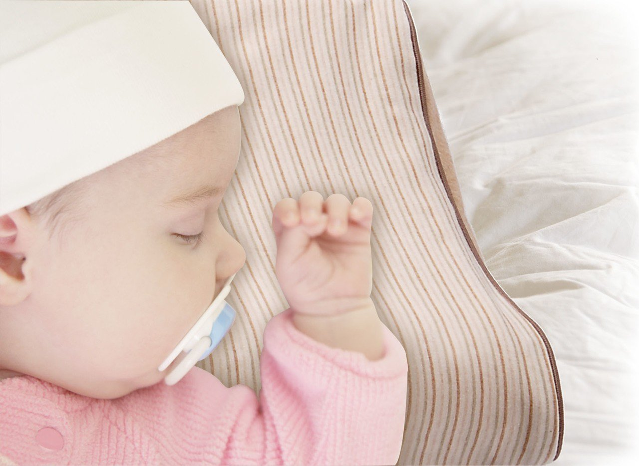 TENDAYS KIDS嬰幼童專用天使枕。圖/TENDAYS提供