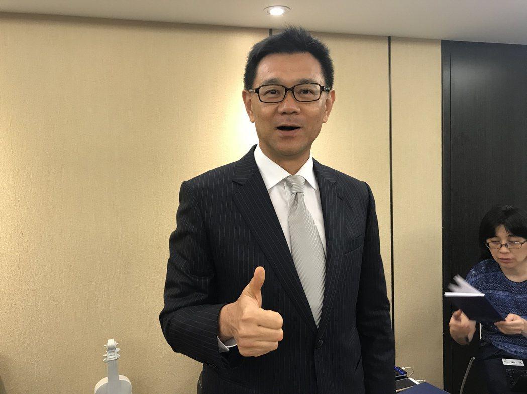 達麗建設董事長謝志長 記者游智文/攝影